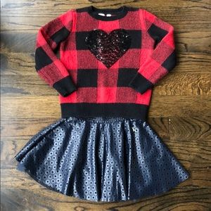 Gap sweater and skirt